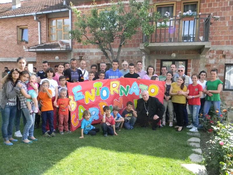 casa accoglienza kosovo con card. bassetti maggio 2014