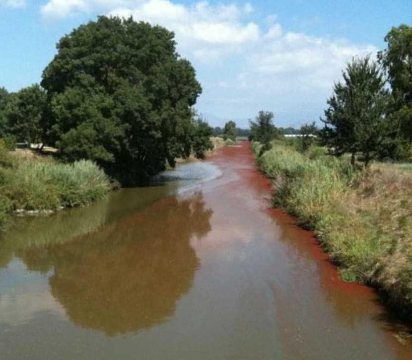 fiume inquinato2