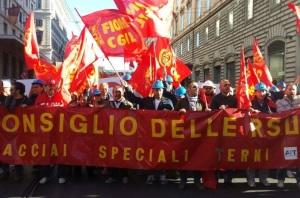 manifestazione roma rsu ast 2