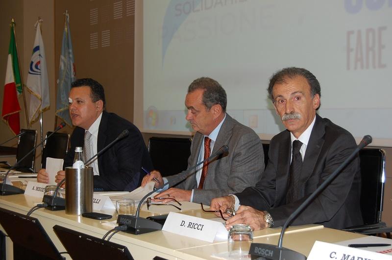 Alessandro Meozzi, Lucio Nicciarelli, Dino Ricci