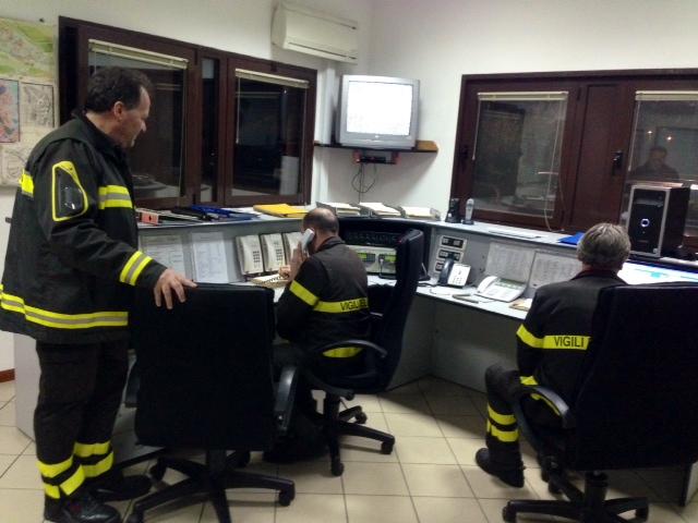 vigili del fuoco foligno