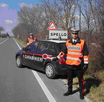 carabinieri spello
