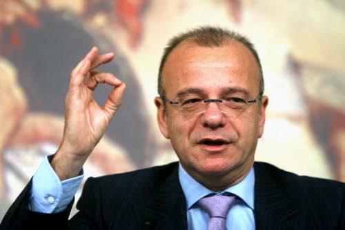 Conferenza stampa del ministro Gianfranco Rotondi sulla proposta di abolire la pausa pranzo