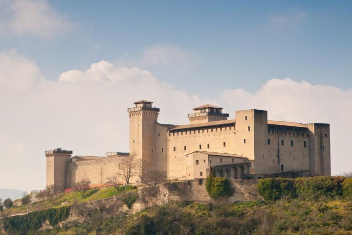 Rock of Albornoz, Spoleto - Italy