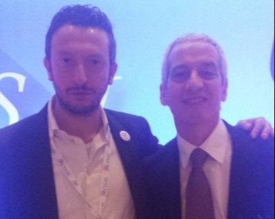 Vincenzo Filice con il segretario nazionale Cisal Francesco Cavallaro