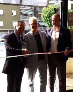 Foligno inaugurata la nuova sede delle agenzie delle for Agenzia immobiliare foligno