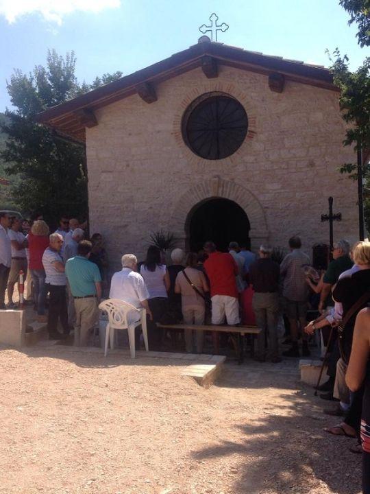 chiesa rigali ristrutturata