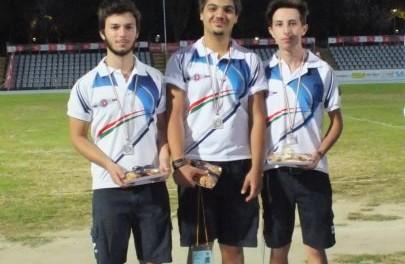 Matteo De Santis, Rocco Iovine e Andrea Adeante