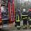 Gubbio, macchinario tocca cavi elettrici, operatore salvato dai vigili del fuoco.