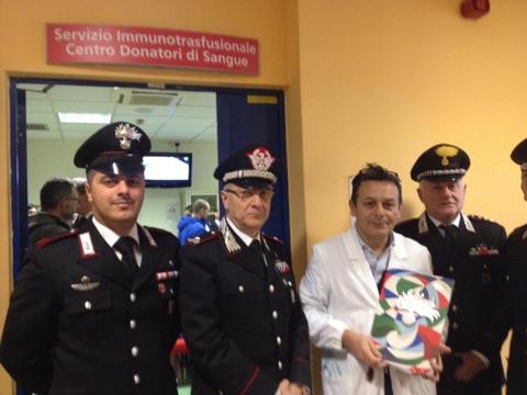 carabinieri donano sangue