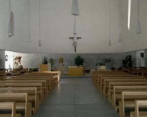 chiesa -fuksas-interno