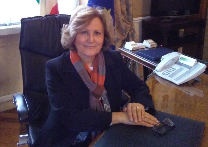 La foto del nuovo Prefetto, Angela Pagliuca