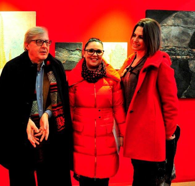 Vittorio Sgarbi, Catia Monacelli, Francesca Sacchi Tommasi