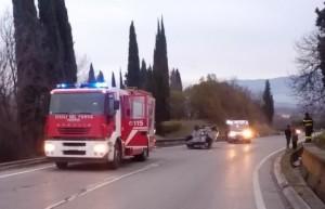 incidente ambulanza vigili del fuoco