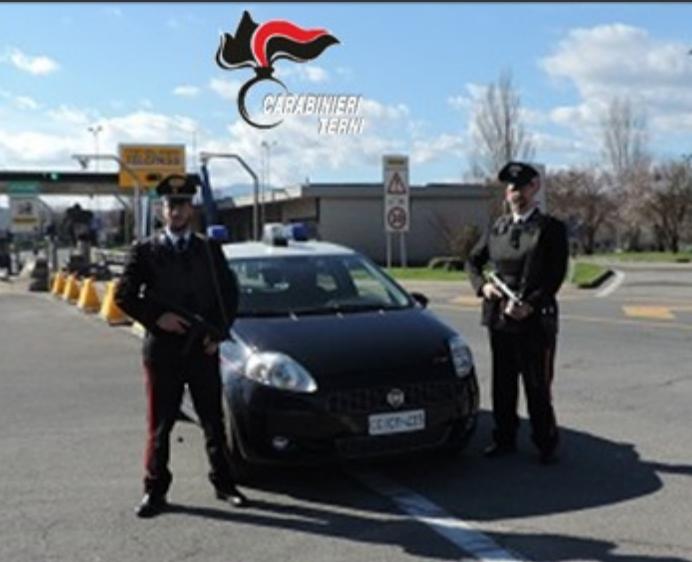 carabinieri di Terni Casello