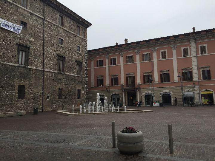 Comune di Terni Fontana Piazza Europa
