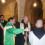Fiaccola benedettina allo Spallanzani e in Ospedale a Bergamo: luce di speranza