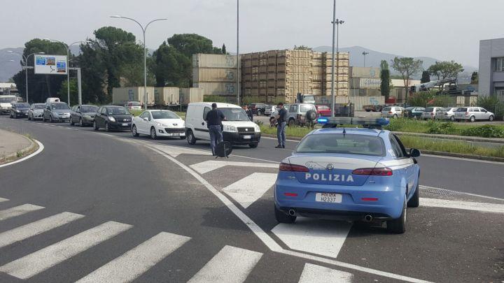 Polizia Terni Posto di Blocco Taschetti