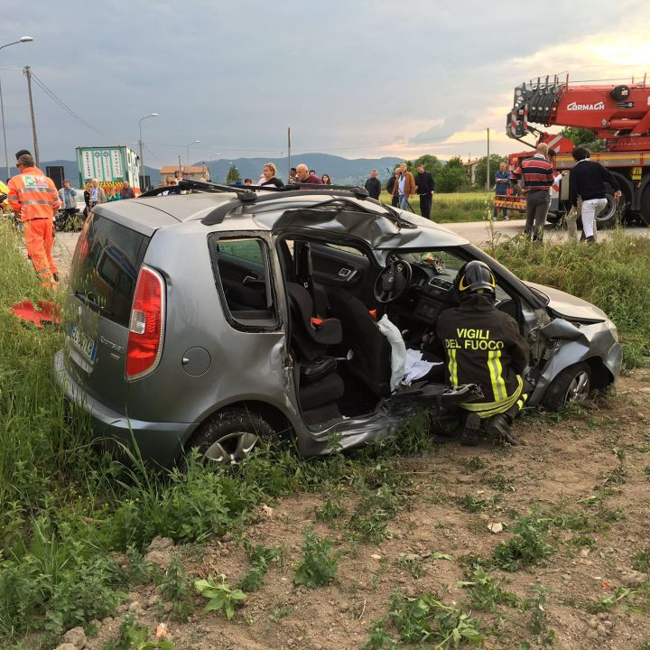 Strada delle Campore Incidente