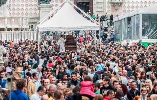 Eurochocolate 2020: presentato un piano di gestione dei flussi