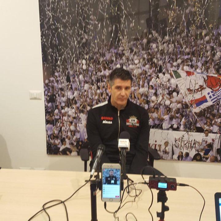 Boban Kovac in conferenza stampa
