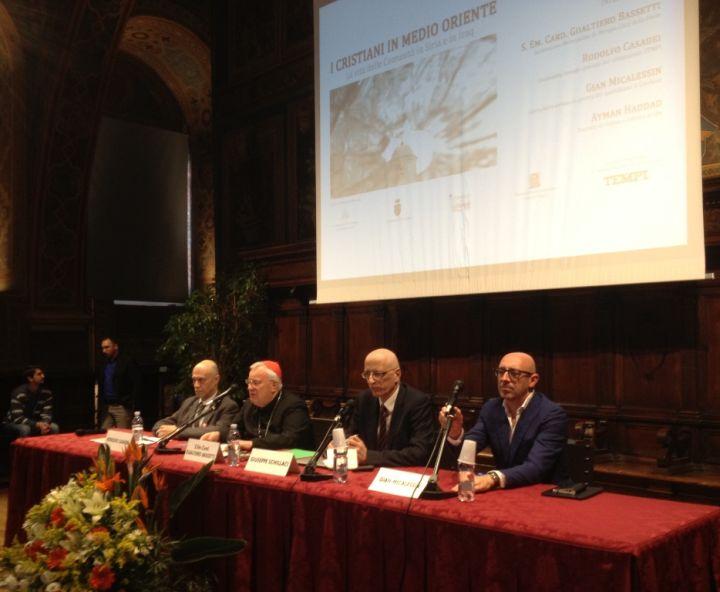 sala notari, relatori a conferenza su cristiani perseguitati e martiri
