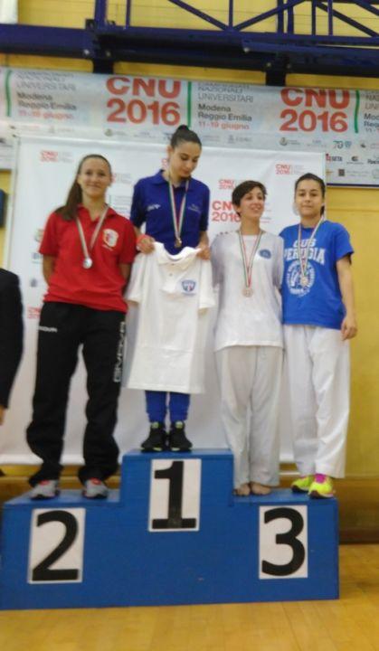 Karate (podio) Cnu 2016
