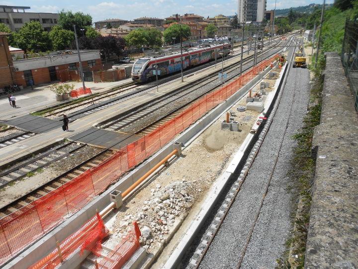 Stazione P.S.Giovanni 5 binario