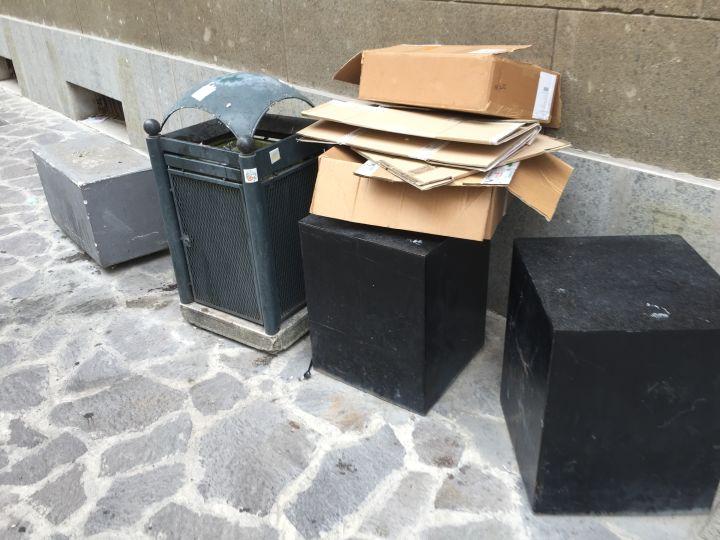 Spazzatura raccolta differenziata Terni immondizia