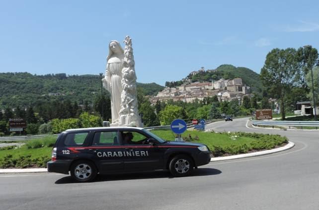 carabinieri cascia