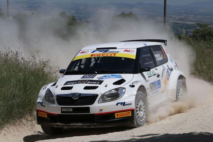 Daniele Ceccoli, Piercarlo Capolongo (Skoda Fabia S2000 #23, Scuderia San Marino)