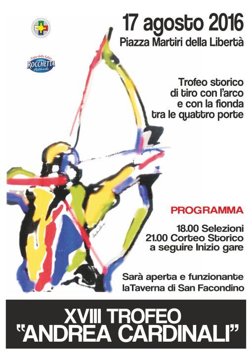 Trofeo Cardinali 2016