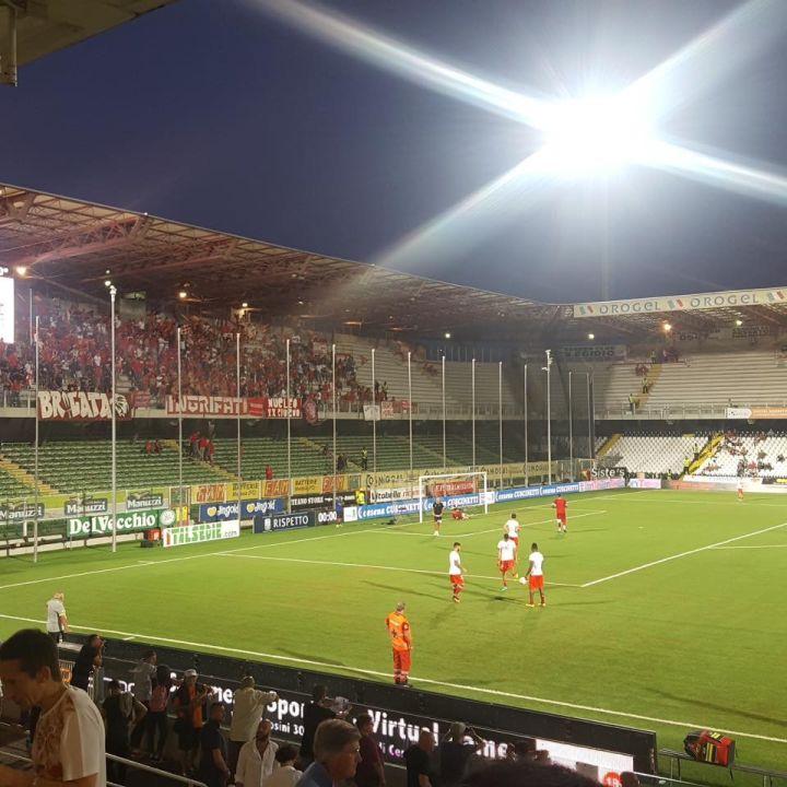 Il Perugia tenta il blitz al Manuzzi dopo tredici anni. Floro Flores l'ultimo match winner