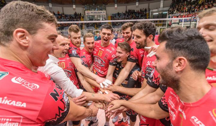 «Gi Group Monza - Sir Safety Conad Perugia» 10ª giornata SuperLega UnipolSai Campionato italiano di Pallavolo Maschile Serie A1