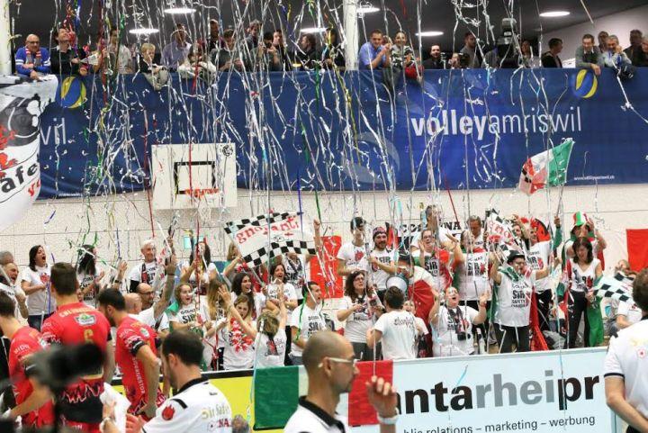 «Volley Amriswil - Sir Sicoma Colussi Perugia» Turno preliminare CEV Champions League