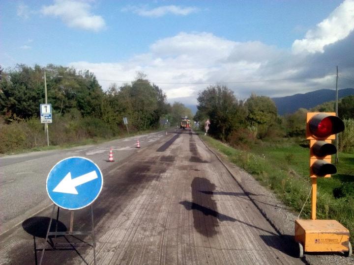 strada lavori