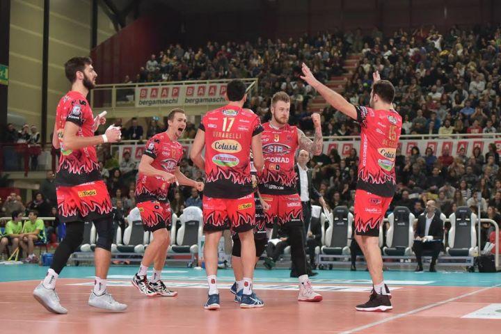 «Kioene Padova - Sir Safety Conad Perugia» 2ª giornata di ritorno SuperLega UnipolSai, Campionato italiano di Pallavolo Maschile Serie A1