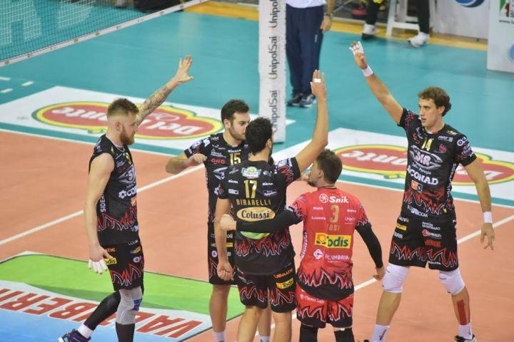 a3f937d676 «Sir Safety Conad Perugia - Top Volley Latina» 11ª giornata SuperLega  UnipolSai Campionato italiano