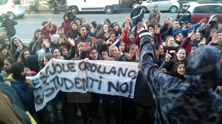 protesta Cesi-Casagrande
