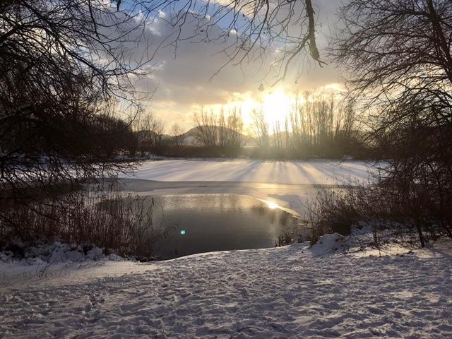 Santa Lucia con la neve, imbiancato l'Appennino