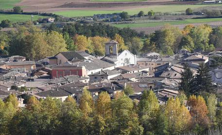 A panoramic view of Norcia after the strong earthquake in central Italy, 30 October 2016. ANSA/MATTEO CROCCHIONI