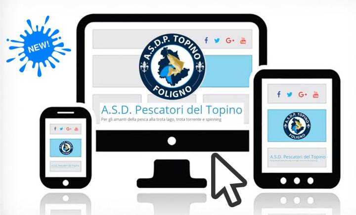 new layout website pescatori del topino