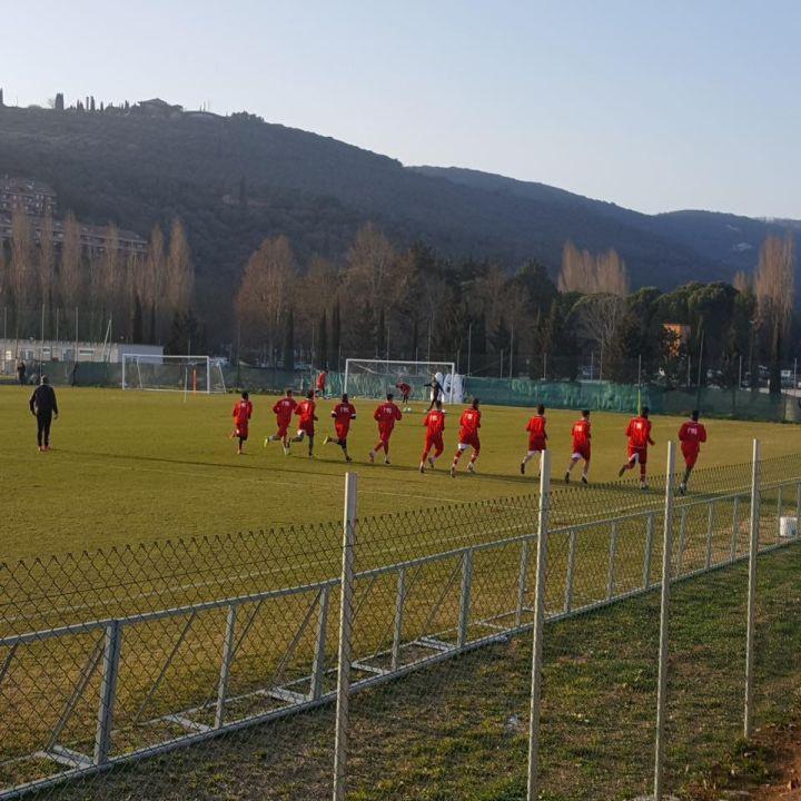 Perugia calcio allenamento