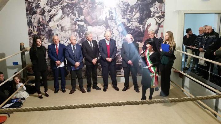 Assisi taglio del nastro per il museo nazionale del - Allenamento pugilato a casa ...