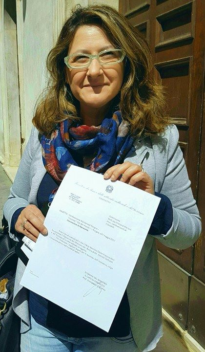 Cristiana Mariani, patrocinio Ministero Attività Culturali