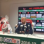 """Perugia, Bucchi: """"Il processo di crescita durerà fino all'ultima giornata"""""""
