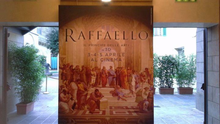 Locandina del film documentario su Raffaello