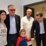 Perugia, la bella storia di Dion: guarito dalla leucemia torna a casa nel giorno del suo compleanno