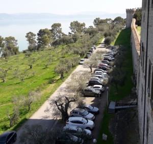 parcheggio del poggio