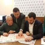 Todi, Salvini benedice il candidato del Carroccio alle Comunali